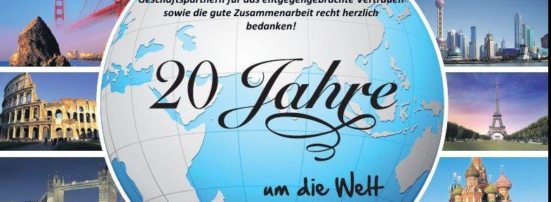 LTI 20 Jahre um die Welt - LTI feiert 20 jähriges Jubiläum